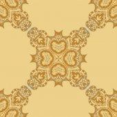 Seamless yellow pattern — Stock Vector