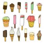 Set of ice cream. — Stock Vector #75235753