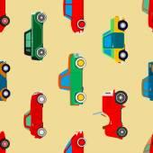Wallpaper van auto 's. — Stockvector