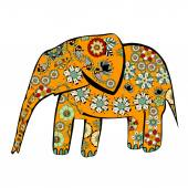 Elephant. — Stock Vector