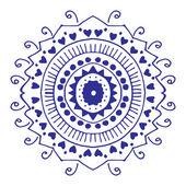 Rosette ornament — Stock Vector