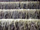 FDR Memorial - waterfall closeup — Stock Photo