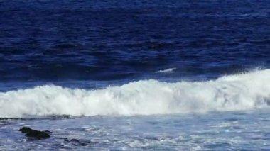 Vlny Atlantického oceánu — Stock video