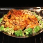 Appetizing roast turkey — Stock Photo #55261593