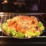 Roast turkey — Stock Photo #57934485