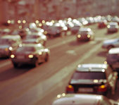 Defocused Lights of Traffic — Stock Photo