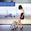 Passenger in airport — Stock Photo #67090501