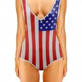 American body — Stock Photo