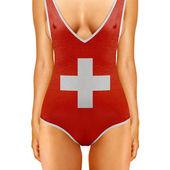 Swiss body — Stock Photo