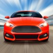 Red sport race car — Stock Photo #84160440