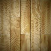 Trä golv — Stockvektor