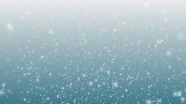 Falling Snow — Stock Video