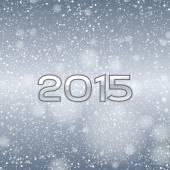 Blue Snow 2015 — Stock Vector