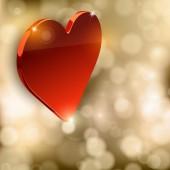 Coração de luxo — Vetor de Stock