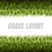 Grass Layout  — Vector de stock
