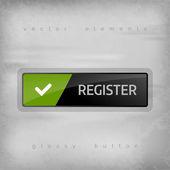 S'inscrire à bouton — Vecteur