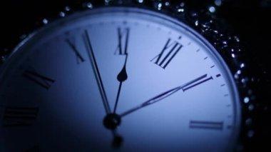 Relógio de bolso vintage — Vídeo Stock