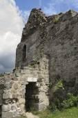 Ruins of Primda castle — Stock Photo