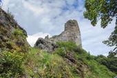 Ruine der burg přimda — Stockfoto
