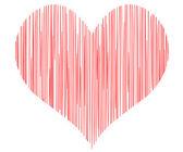 Vector heart - symbol of love — Stock Vector