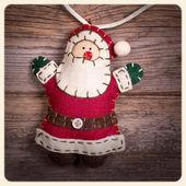 Santa Claus instagram — Zdjęcie stockowe