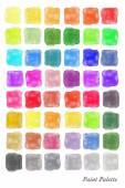 Aquarell palette — Stockvektor