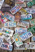 Licence Plates — Stock Photo