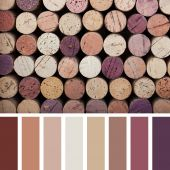 Cork palette — Stock Photo