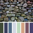 Old stone wall palette — Stock Photo #64398521