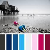 Lazy summer palette — Stock Photo