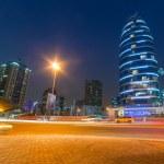 ������, ������: Dubai Internet City at dusk UAE