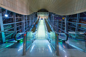 Tunnels of metro station in Dubai Internet City, UAE — Stock Photo