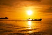 Andaman Sea at sunset — Stock Photo