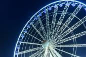 Ferris wheel in the city centre of Gdansk — Stock Photo