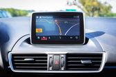 Car navigation — Stock Photo