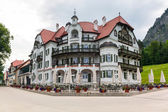 Hohenschwangau village in Bavarian Alps — Stock Photo