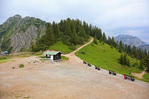 Idyllic scenery of Bavarian Alps — Stock Photo