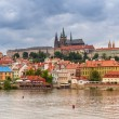 Old town of Prague at Vltava river — Stock Photo #54182589