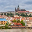 Old town of Prague at Vltava river — Stock Photo #54182851