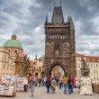 Постер, плакат: Charles Bridge in Prague Czech Republic