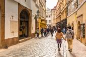 Streets of Prague, Czech Republic — Stock Photo