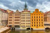Historic architecture of Prague in Czech Republic — Stock Photo