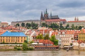 Old town of Prague at Vltava river — Photo