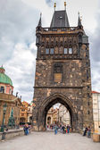 Charles Bridge in Prague, Czech Republic — Stockfoto