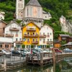 Architecture of Hallstatt village — Stock Photo #54441369