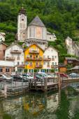Architecture of Hallstatt village — Foto de Stock