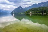 Grundlsee lake in Alps mountains — Stock Photo