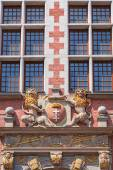 Architecture relief in Gdansk — Foto de Stock