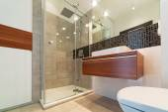 Interior de baño — Foto de Stock