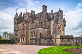 Historic Blarney mansion at the castle in Ireland — Stock Photo